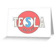 Tesla Deathrays  Greeting Card