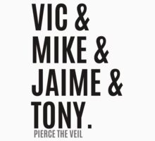 Vic &  Mike & Jaime & Tony by cucumberpatchx