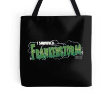 I Survived Frankenstorm Tote Bag
