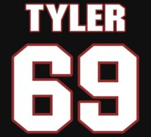 NFL Player Tyler Horn sixtynine 69 by imsport