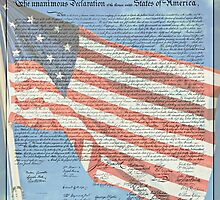 Declaration of Independence & Star-Spangled Banner by Stephen Stookey