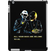 All Your Bass Are Belong To Us iPad Case/Skin