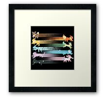 Eevolution Framed Print