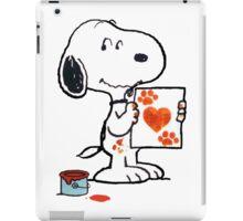 Snoopy Valentine iPad Case/Skin