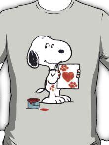 Snoopy Valentine T-Shirt