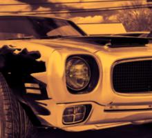 Pontiac d Sticker