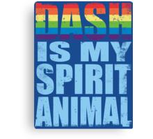 RainbowDash is my Spirit Animal Canvas Print
