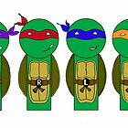 Teenage Mutant Ninja Turtles by mimiboo