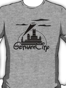 Gotham City Black T-Shirt
