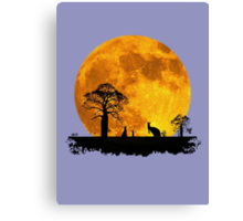 Outback Moonrise Canvas Print