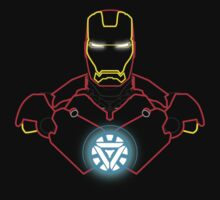 Iron Man Outlines by Neov7