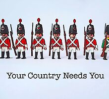 Your country needs you! by Tim Constable
