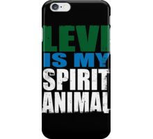 Levi is my Spirit Animal iPhone Case/Skin