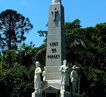War Memorial Maryborough Qld Australia by Sandra  Sengstock-Miller