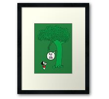 The Keeping Tree Framed Print