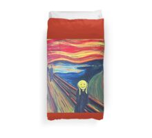 The Smile (The Scream, after Munch) Duvet Cover