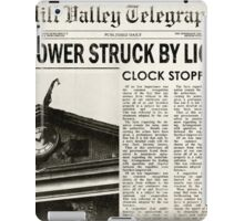 Hill Valley Telegraph iPad Case/Skin