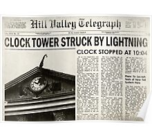 Hill Valley Telegraph Poster