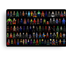 All Heroes Canvas Print