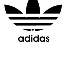 Adidas logo - black. by razorrawr