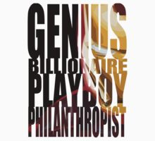 Genius, Billionaire, Playboy, Philanthropist by - Kay -