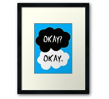 The Fault In Our Stars - Okay Framed Print