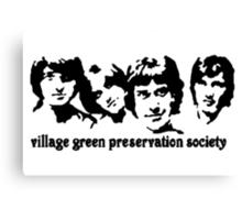 British Invasion - Village Green Preservation Society Canvas Print