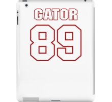 NFL Player Gator Hoskins eightynine 89 iPad Case/Skin
