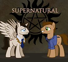 Supernatural - pony style by Catherine Dair