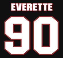 NFL Player Everette Brown ninety 90 by imsport