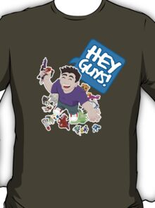 """Hey Guys!"" Cartoon T-Shirt"