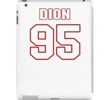 NFL Player Dion Jordan ninetyfive 95 iPad Case/Skin