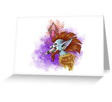 Vol'Jin Splash Art Greeting Card
