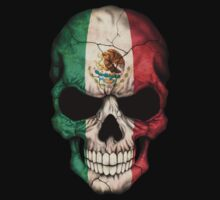 Mexican Flag Skull Kids Clothes