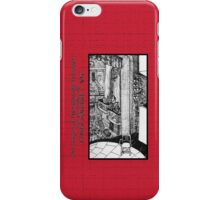 NYC - Back Stage at the Royale Theater, off Times Square iPhone Case/Skin