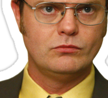 Dwight Danger/Kurt Schrute Sticker