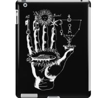 Renaissance Alchemy Hand with Symbols iPad Case/Skin