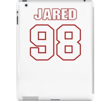 NFL Player Jared Odrick ninetyeight 98 iPad Case/Skin