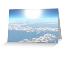 Clouded Dreams Greeting Card