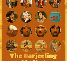 The Darjeeling Limited featuring the Whitman Brothers by isabelgomez