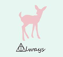 Always, Harry Potter, Doe Patronus by NerdGirlTees