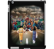 Sayajins vs Marvel's Heroes iPad Case/Skin