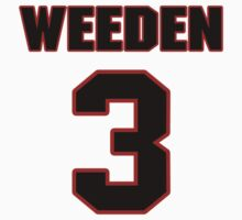 NFL Player Brandon Weeden three 3 by imsport