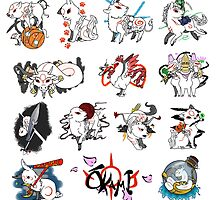 Okami brush gods by Alex-san