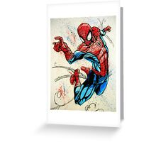 Swinging Into Action Greeting Card