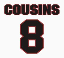 NFL Player Kirk Cousins eight 8 by imsport