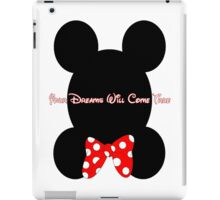 Mickey and Minnie Minimalist Design iPad Case/Skin