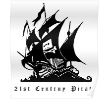 21st Century Pirate Poster