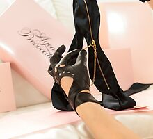 Agent Provocateur Gloves and Mask by prideaux