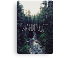 Wanderlust Rainier Creek Canvas Print